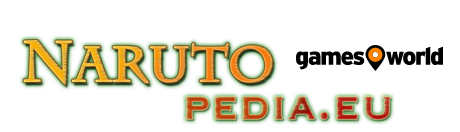 Narutopedia powered by gamesworld Logo